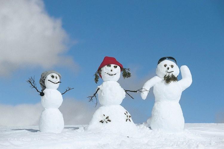 Thredbo YHA Snowman Building