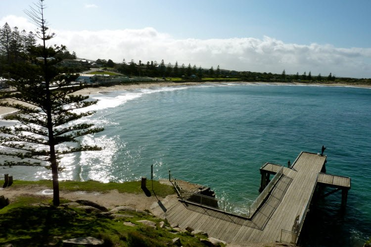 Port Elliot coastline