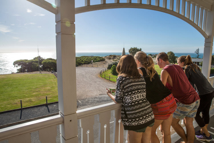 Port Elliot YHA balcony credit SATC