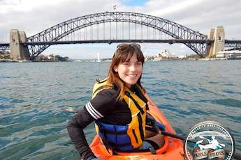 Kayak Sydney Harbour tile image