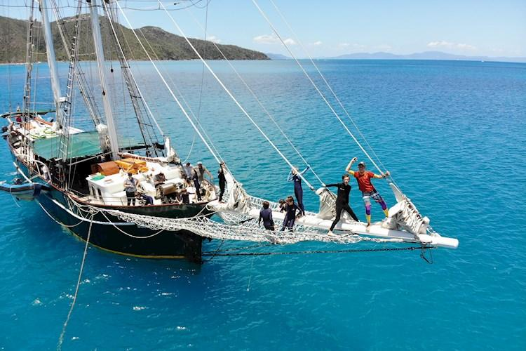 Sailing Tour- Hanging on the bow