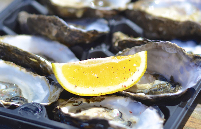 Oysters credit Shutterstock