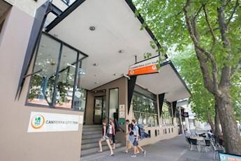 Canberra City YHA tile image