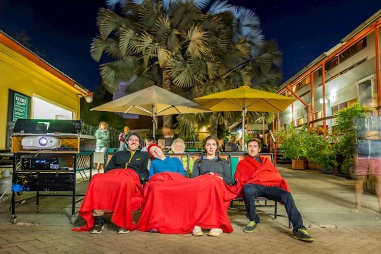 Historic Outdoor Cinema - Alice Springs YHA