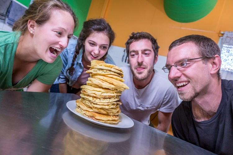 Weekly Pancake Mornings - Alice Springs YHA