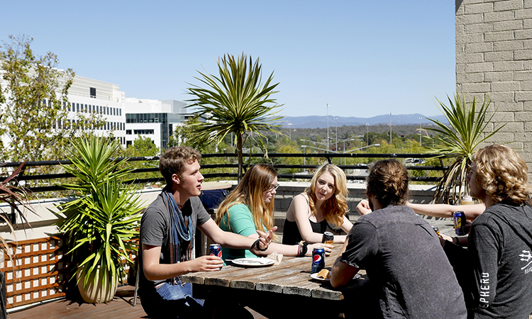 Canberra City YHA Rooftop