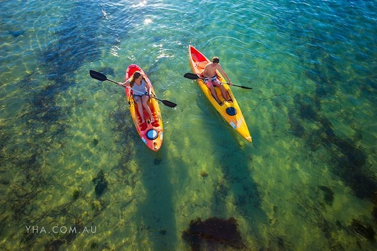 Port Stephens YHA - Kayaking