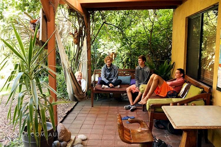 Port Stephens YHA - Outdoor Area