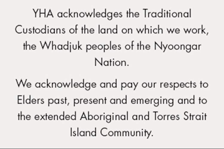 Acknowledgement of Country